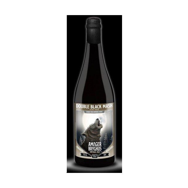 Double Black Mash 2021 Coconut, Amager Bryghus, Danmark, 75 cl. flaske, 12,0 %