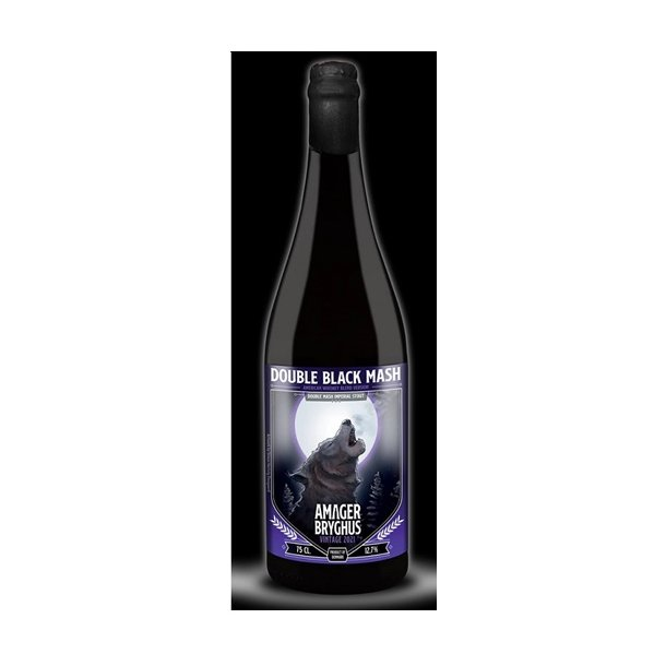 Double Black Mash 2021 American Whiskey Blend, Danmark, 75 cl. flaske, 12,7 %