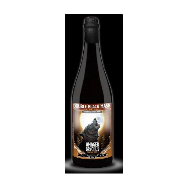 Double Black Mash 2021 Rye Whiskey, Danmark, 75 cl. flaske, 12,0 %