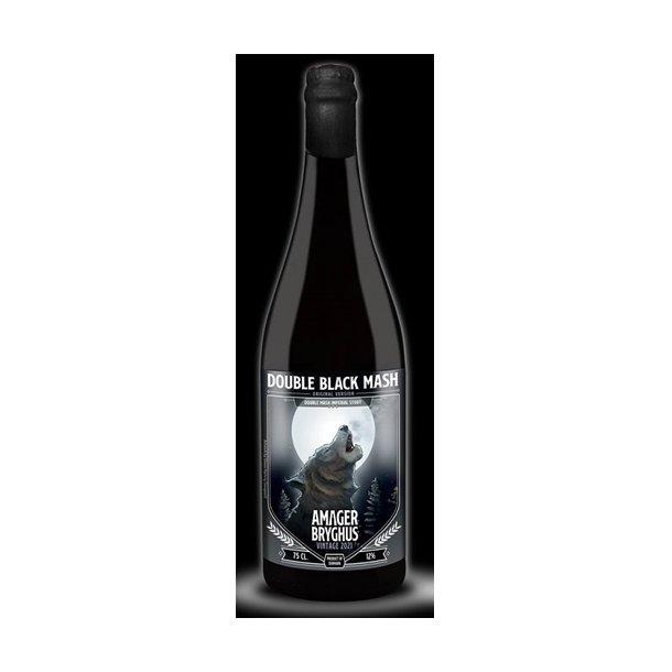 Double Black Mash 2021, Amager Bryghus, Danmark, 75 cl. flaske, 12,0 %