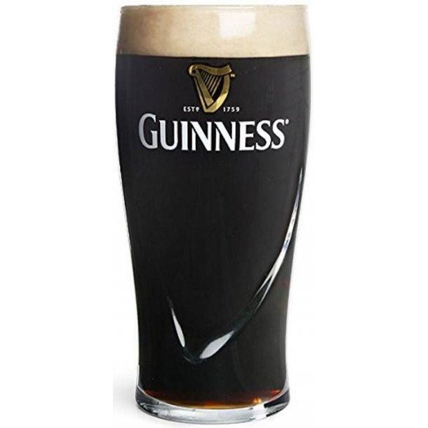 6 stk. Guinness glas 50cl.
