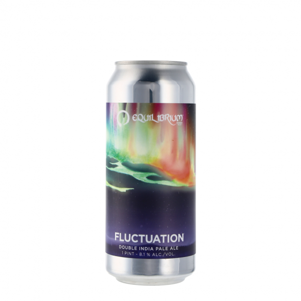 Fluctation, Equilibrium Brewery, IPA - Imperial / Double, USA, 47 cl., 8,1%