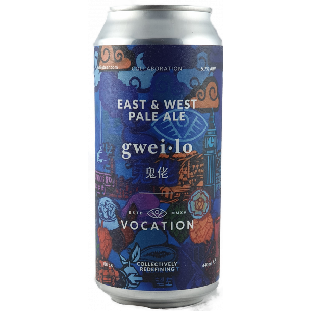 East & West, NEPA, Vocation, England, 44 cl.,(Dåse) 5,7%